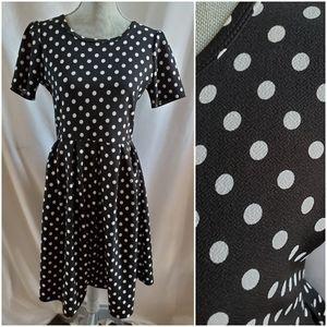 🆕 Lularoe Amelia dress polka dots